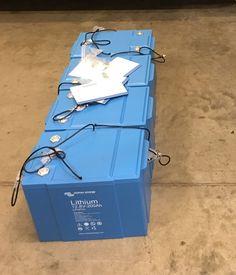 800Ah of lithium batteries