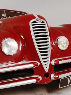 vintage red Alpha