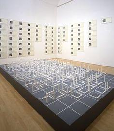 Sol Le Witt, Open Cubes Sculpture