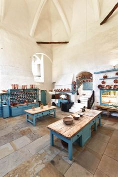 The Kitchen - Raby Castle