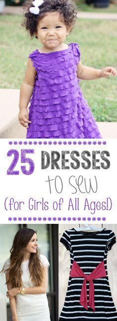 25 Dress Patterns from @Amber Price: Crazy Little Projects | Learn how-to sew a dress