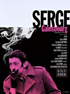 GigPosters.com - Serge Gainsbourg - Beck - Sean Lennon