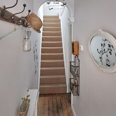 Neutral vintage style hallway | Decorating | housetohome.co.uk
