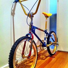 Old school bmx goodness. It was my first real build and I never even took it for…