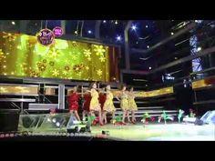 [록화실황] 계절춤 (왕재산경음악단 요술무용) - YouTube