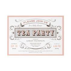 Free Printable Tea Party Invitation Template   Titihead baby ...