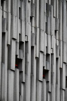 scavengedluxury:  Civic centre beton brut. Reading, June 2014.