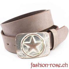 stern gürtel Damengürtel Set mit sehr schöner Zierschnalle Online finden kaufen Schweiz Star Wars, Belt, Up, Accessories, Fashion, Fashion Styles, Silver Jewellery, Stars, Metal