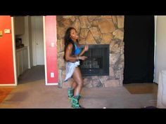 Keaira Lashae Soca workout - since injuring my ankle at the gym I haven't indulged in any Zumba, and really feel that it is something that should be done as a group - but I love her energy! Gonna try this tonight, will let you know how it went x