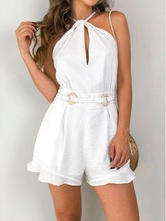 Shorts Vanilla Off White Dress Outfits, Casual Outfits, Cute Outfits, Fashion Outfits, Womens Fashion, Short Dresses, Girls Dresses, Frack, Summer Outfits
