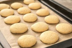 Soft And Puffy Lemon Cookie Recipe