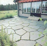 Marksten i trädgården - viivilla.se