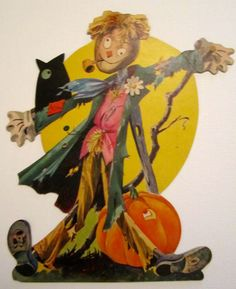 Vintage Dennison halloween decoration from the 1960's