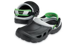 90e60ebcb Crostrail Kids – Black   Light Grey Crocs