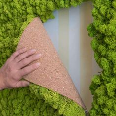 Flexible moss frames to adapt to your taste, hand built from real moss from the artic forests Moss Wall Art, Moss Art, Diy Wall Art, Faux Murs, Moss Decor, Cork Wall, Home Decor Catalogs, Natural Home Decor, Plant Wall
