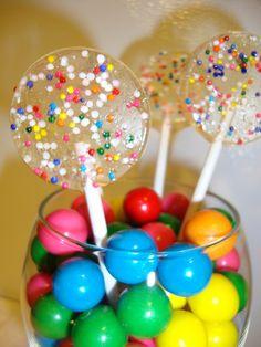 Bubble Gum Party Pops
