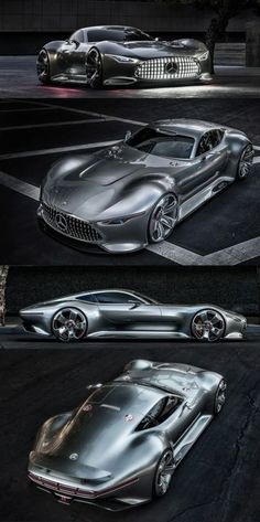 This Mercedes Gran Turismo concept will blow you away! Click for awesomeness #carporn #spon