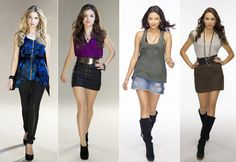 Pretty Little Liars outfits (not a fan of the 3rd one)