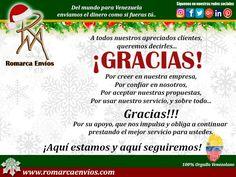 Un millón de gracias a todos nuestro clientes. Del mundo para Venezuela,  enviamos el dinero como si fueras tú.