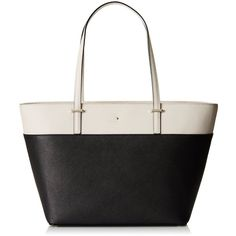 kate spade new york Cedar Street Small Harmony Tote Bag ($268) ❤ liked on Polyvore featuring bags, handbags, tote bags, white tote bag, kate spade purses, white tote, handbags tote bags and kate spade