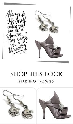 """""""*UNICORN*"""" by victoria-ronson ❤ liked on Polyvore featuring N°21"""