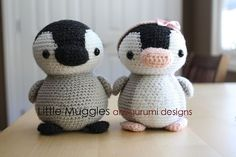 **This listing is for the PATTERN and not the finished doll!!** Grab your crochet hook! Pippin the Penguin is the perfect little amigurumi project