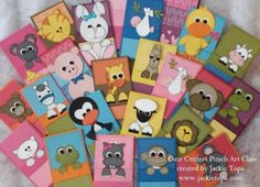 Cute Critters Punch Art Class by jactop - Cards and Paper Crafts at Splitcoaststampers
