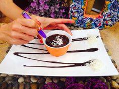 Cremante de Chocolate | Receta de Dore Ferriz en AguayAjo.com
