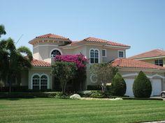 marianna manor floridian home mediterranean homes - Mediterranean Homes Design