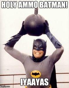 Batman  USAF Ammo IYAAYAS