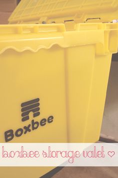 NYC Living :: Boxbee Valet Storage, I am in! -- Easy, affordable and convenient what more could you want?