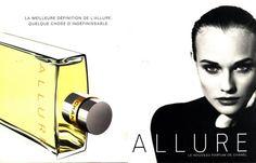 Allure by Chanel with Diane Heidkrueger (1996).