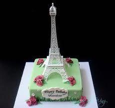 cake eiffel tower - Buscar con Google