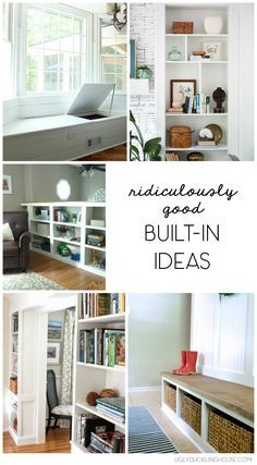 Ideas in furniture Screened Reader Remarks Ridiculously Good Builtin Ideas Pinterest 200 Best Built In Furniture Etc Images In 2019 Bookshelves
