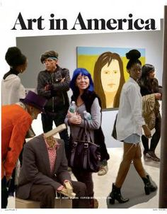 NEW ISSUE ART IN AMERICA MARCH 2016 PRINT ARRIVED 9.3.16