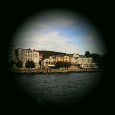 Sassnitz - an der Hafenpromenade