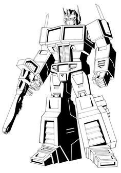 Great Optimus Prime Coloring Pages. There are cool Optimus Prime coloring pictures to print below. Optimus Prime is a fictional character created by Takara Tomy Transformers Drawing, Transformers Coloring Pages, Transformers Optimus Prime, Bee Coloring Pages, Coloring Pages For Kids, Coloring Sheets, Printable Coloring, Coloring Pages Inspirational, Transformer Party