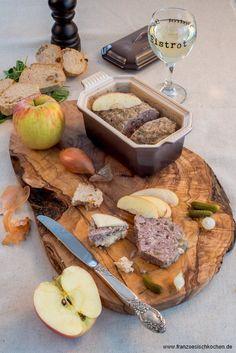 Ententerrine mit Äpfeln und Calvados