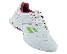 Babolat Pulsion Womens Women's Tennis and Racquet Sports Shoes Shoes WhitePink ** Click image to review more details.