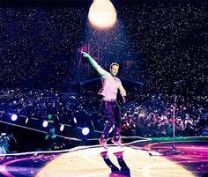 Chris Martin concierto Coldplay CDMX