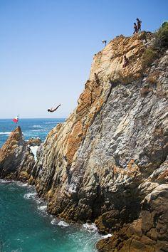 La Quebrada (México): saltos de más de 35 metros de altura.