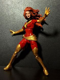Dark Phoenix Jean Grey (Marvel Legends) Custom Action Figure