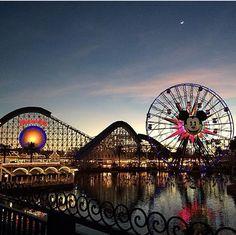 いいね!201.8千件、コメント1,323件 ― Disneylandさん(@disneyland)のInstagramアカウント: 「Where's your favorite place for an evening stroll? #DisneyCaliforniaAdventure (📷:…」