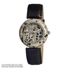 Earth Et1001 Leopard Jasper Watch