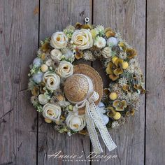 Topiary, Christmas Wreaths, Floral Wreath, Holiday Decor, Spring, Crafts, Vintage, Lovers, Decorations