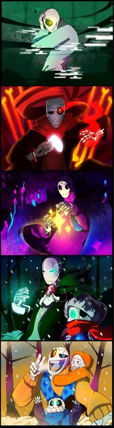 so both one and two of this comic was inspired by this song...soon I will get to Outertale!Gaster song---->www.youtube.com/watch?v=ZsoUa1… part1: bunnymuse.deviantart.com/art/I…