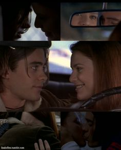I love when they're together! Jordan Catalano and Angela Chase... More My So-Called Life. (Jared Leto and Claire Danes)