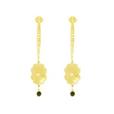 The Murkani Beleza Long Hanging Earrings Earrings are plated in 18 KT Yellow Gold Plate. They are handcrafted and have a hammered finish. The wire earring hooks are made from Sterling Silver and then plated in 18 KT Yellow Gold. Every Murkani jewellery item comes with its own Murkani black jewellery pouch plus a cleaning cloth and then beautifully gift wrapped, ready to give as present or just to receive as a lovely surprise in the mail.
