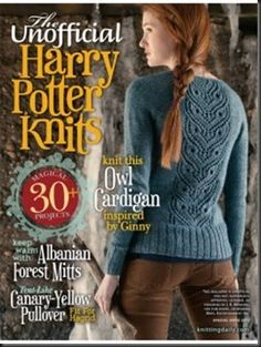 The Unofficial Harry Potter Knits from Interweave has finally arrived. Those that reserved copies, please come pick them up. Those that would like to order copies, please call the store-290-3738!