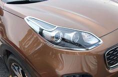 Front Head Light Headlight Lamp Cover Trim Sticker For KIA Sportage QL 2016-2017
